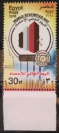 E24 - Egypt 2010 MNH Stamp - World Statistics Day - Egypt