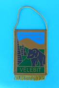 VELEBIT - VAGANSKI V Croatia Mountaineering Pennant Fanion Climbing Alpinisme Bergsteigen Alpinismo Arrampicata Klettern - Unclassified