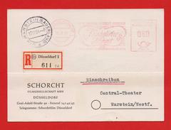 Firmen-PK Schorcht Filmgesell. AFS 60Pfg Königliche Hoheit DÜSSELDORF > WARSTEIN 17.11.54 - [7] Repubblica Federale