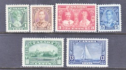CANADA  211-16  * - 1911-1935 Reign Of George V