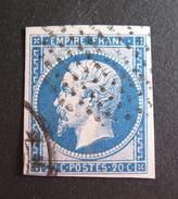 LOT DK3/167 - NAPOLEON III N°14B - CERCLE DE POINTS - 1853-1860 Napoléon III