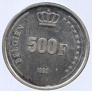 BOUDEWIJN * 500 Frank 1990 Duits * Prachtig / F D C * BELGIEN * Nr 7239 - 1951-1993: Baudouin I