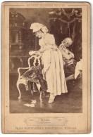 Photo Franz Hanfstaengl's Kunstverlag, München, Gemälde Von F. Vinea, La Curiosa, Die Neugier - Unclassified