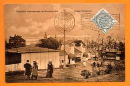 Bruxelles. Exposition Universelle De 1910. Village Sénégalais. 1910 - Expositions Universelles