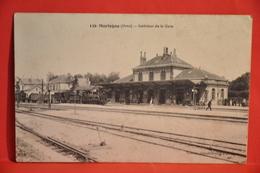 Mortagne - Intérieur De La Gare - Mortagne Au Perche