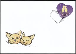 Slovenia Ljubljana 2004 / Love / Valentines Day / Cats - Other