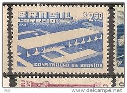 Brazil * & Construction Of Brasilia 1958 (658) - Neufs