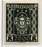 PIA - AUS - 1922 : Simboli : Arti - (Yv  289) - 1918-1945 1a Repubblica