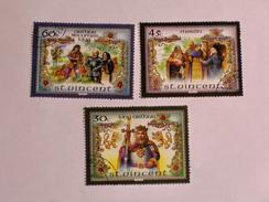 ST-VINCENT  1986   LOT# 12  The Legend Of King Arthur - St.Vincent (1979-...)