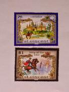 ST-VINCENT  1986   LOT# 13  The Legend Of King Arthur - St.Vincent (1979-...)