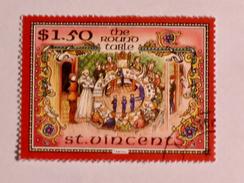 ST-VINCENT  1986   LOT# 14  The Legend Of King Arthur - St.Vincent (1979-...)