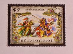 ST-VINCENT  1986   LOT# 16  The Legend Of King Arthur - St.Vincent (1979-...)