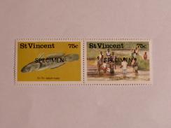 ST-VINCENT  1986   LOT# 17  FISHING - St.Vincent (1979-...)