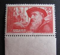 LOT GD2/104 - 1937 - POUR LES CHÔMEURS INTELLECTUELS - N°344 BdF NEUF ** - Cote : 16,00 € - Ungebraucht