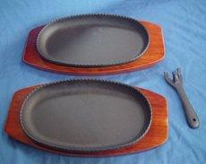 Multi Steak : 2 Plates Set  ( Ikenaga Tekkō ) - Other Collections