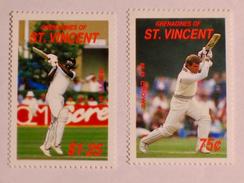 ST-VINCENT & GRENADINES  1988   LOT# 2  CRICKETERS - St.Vincent & Grenadines