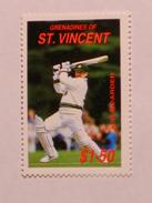 ST-VINCENT & GRENADINES  1988   LOT# 3  CRICKETERS - St.Vincent & Grenadines