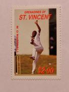 ST-VINCENT & GRENADINES  1988   LOT# 4  CRICKETERS - St.Vincent & Grenadines