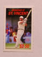 ST-VINCENT & GRENADINES  1988   LOT# 5  CRICKETERS - St.Vincent & Grenadines