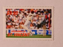 ST-VINCENT & GRENADINES  1988   LOT# 6  CRICKETERS - St.Vincent & Grenadines