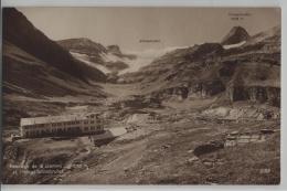 Passage De La Gemmi (2329 M) Et L'Hotel Wildstrubel - Photo: Perrochet-Matile No. 9188 - VS Valais