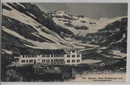 Gemmi, Hotel Wildstrubel Und Lämmergletscher - Photo: Wehrli No. 3325 - VS Valais