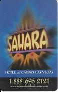 Sahara Casino - Las Vegas, NV - Hotel Room Key Card - Hotel Keycards