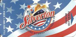 Silverton Casino - Las Vegas, NV - Hotel Room Key Card - Hotel Keycards