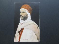 AK Bildpostkarte Völker Type Arabe / Arabier. Colection Ideale P.S. Nach Wien Gesendet! Ostmark - Asie