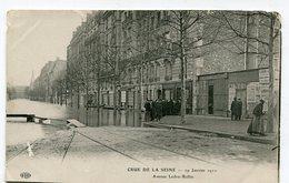 CPA   75  : PARIS  Inondations 1910 Rue Ledru Rollin VOIR  DESCRIPTIF §§§ - Paris Flood, 1910