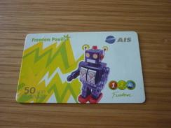 Robot Children Toy Thailand Prepaid Phonecard - Jeux