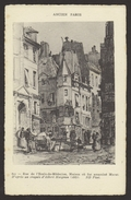 D 75 - ANCIEN PARIS - 611 - Rue De L'Ecole De Medecine - Maison Où Fut Assassiné MARAT - Lotes Y Colecciones