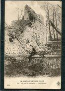CPA - LA GUERRE DANS LE NORD - ABLAIN ST NAZAIRE - Le Château, Animé - Guerre 1914-18