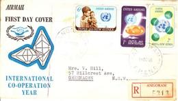 Papau New Guinea FDC 20th Anniversary Of The United Nations - Papua Nuova Guinea