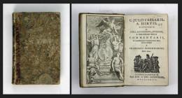 C. Julii Caesaris, A. Hirtii, Aliorumque De Civili, Alexandrino, Africano, Et Hispaniensi Bello Commentarii. - Bücher, Zeitschriften, Comics
