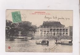 CPA SAIGON, LES MESSAGERIES MARITIMES En 1909! - Viêt-Nam
