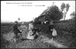 Scènes De Douane à La Frontière.6. Visites De Femmes - Police - Gendarmerie