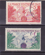 1940-1941   N° 453 Neuf * Et 503 Oblitéré - Voir Verso  - - France