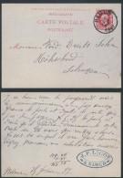AO670 Entier De Namur à Solingen Germany 1887 - Entiers Postaux