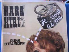 HARA KIRI MENSUEL - N° 57 - NOVEMBRE 65 - Journaux - Quotidiens