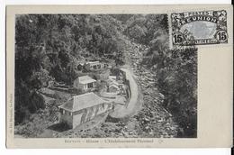REUNION - 1924 - CARTE De CILAOS OBLITEREE POINTE DES GALETS => MARSEILLE - Réunion (1852-1975)