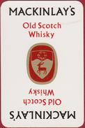 Joker Speelkaart Banjo Guitaar Guitar Old Scotch Whiskey Mackinlay's - Cartes à Jouer Classiques