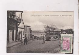 CPA DIEGO SUAREZ, ANGLE RUE GOURAUD ET MARECHAL JOFFRE En 1926! - Madagascar