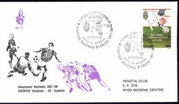 Italia - FDC VENETIA VIAGGIATE 1998 967/it JUVENTUS CAMPIONE D'ITALIA - F.D.C.