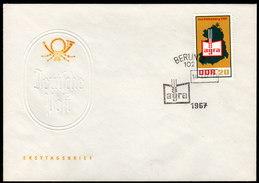 DDR 1967 - AGRA Landwirtschaftsausstellung Markkleeberg - FDC - Landwirtschaft