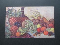 AK Künstlerkarte Kolonialkriegerdank. Früchte Aus Unseren Kolonien Nr. 2. 1914 Feldpost - Ehemalige Dt. Kolonien