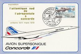 Concorde - De L'Aéropostale à Concorde - Orléans Mars 1979 - Concorde