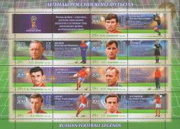 Russland Russia 2016 MNH ** Mi Nr. 2374-2380 Fifa Russia Football Legends II M - 2018 – Russland