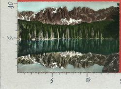 CARTOLINA NV ITALIA - NOVA LEVANTE (BZ) - Lago Di Carezza - 10 X 15 - Bolzano