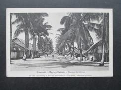 AK 1914 Ringstraße - Dar-es-Salaam Deutsch Ost Afrika. No 242 Kunstverlag C. Vincenti. DOA. Nach Potsdam - Ehemalige Dt. Kolonien